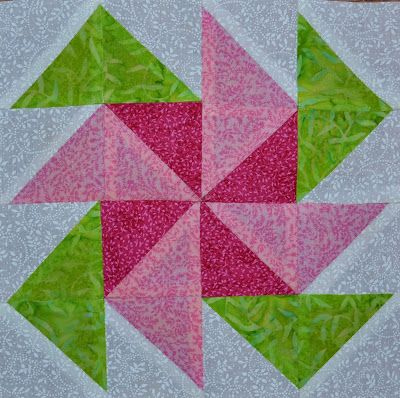 Chock-A-Block Quilt Blocks: Pinwheel Flowers Flying geese Pinterest Quilt, I need to know ...