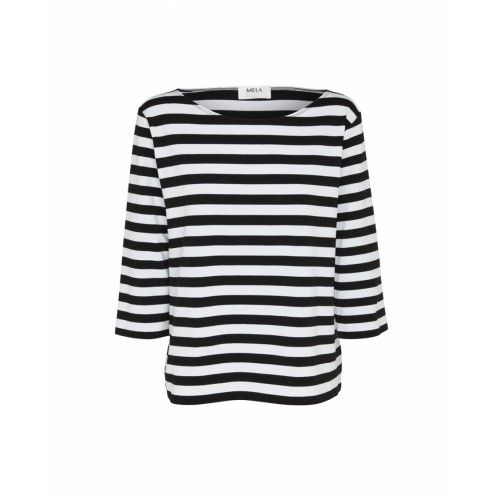 Mela Purdie Relaxed Boat Neck - Select Stripe