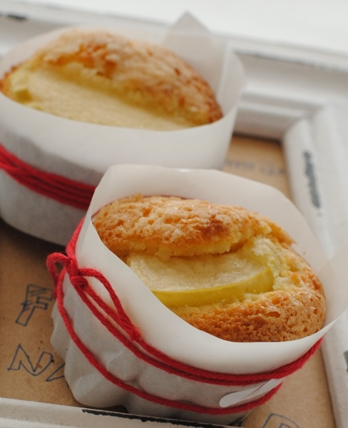 Glu-Fri recetas sin gluten ricette senza glutine: Muffin de manzana y canela sin gluten Muffin di mele e cannella senza glutine