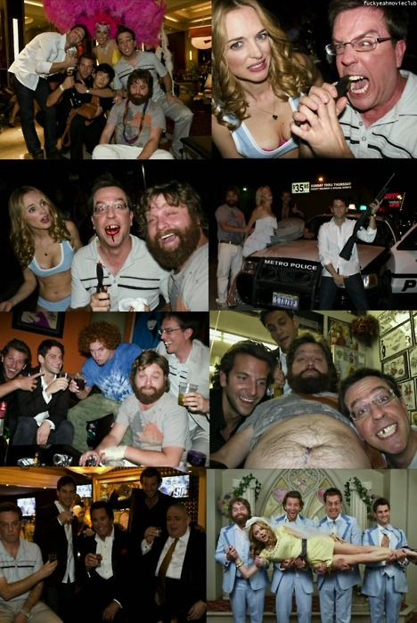 The Hangover. So close to pinning a screen cap but these pictures portray the movie so much better.