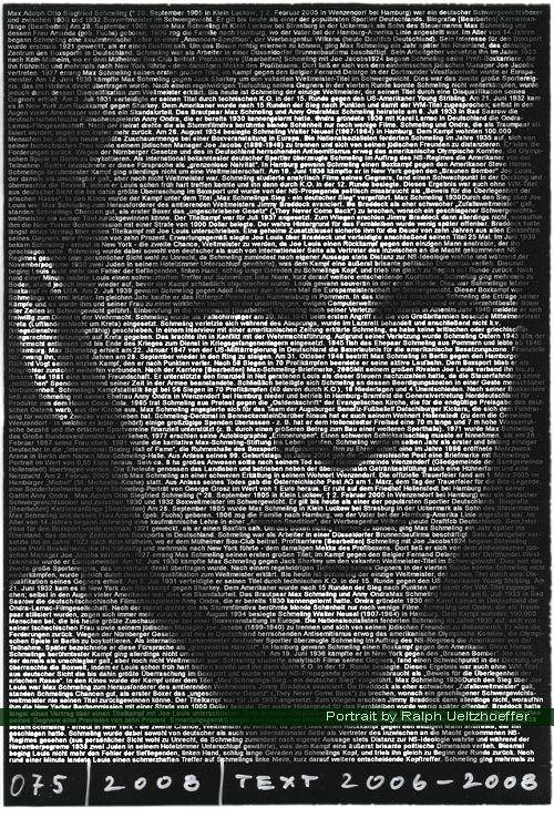 Max Schmeling, Ralph Ueltzhoeffer Textportrait