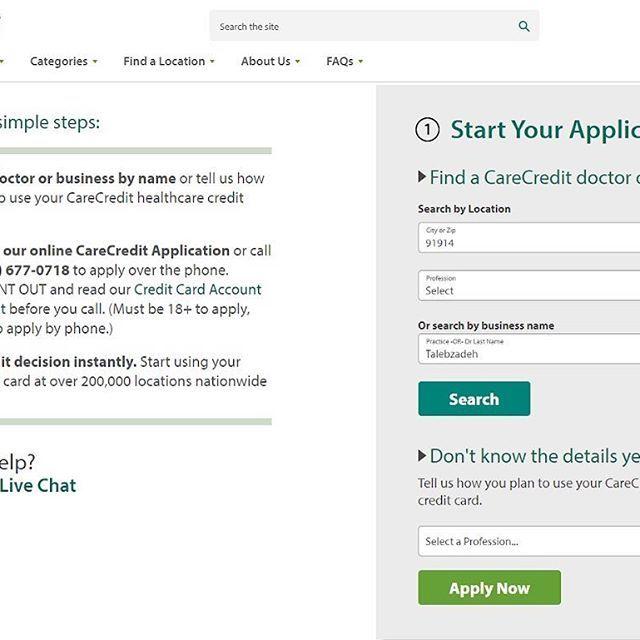 c12238796a6c1e602fe6ed7d7c37a040 - How To Get Approved For Care Credit With No Credit