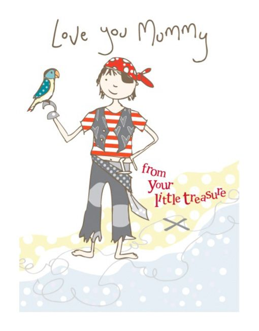 From your little treasure, a gorgeous Molly Mae card.