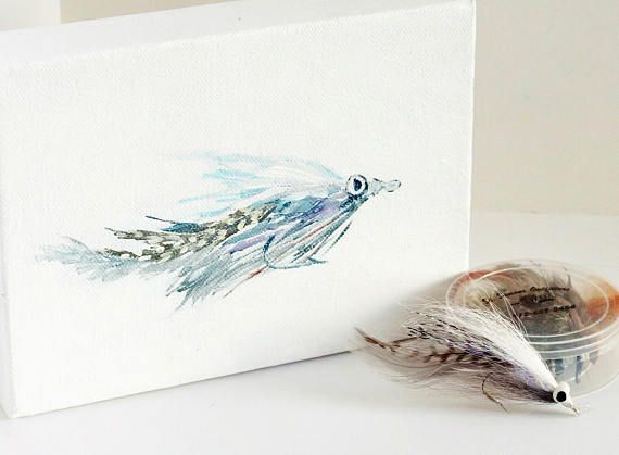 Fisherman Gift Fish Wall Decor Fly Fishing Flies Saltwater Fish