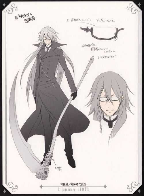 I think he looks somewhat like Prof. Stein. (Soul Eater)