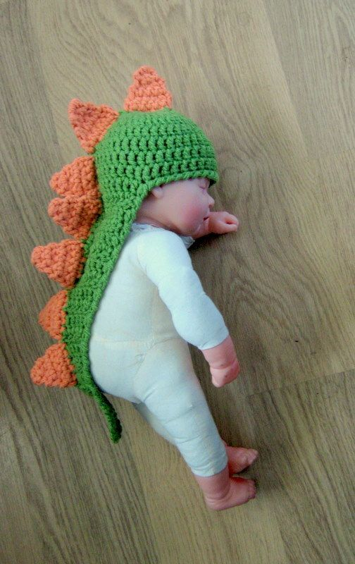 Crochet Pattern For Baby Dinosaur Hat : 17 Best ideas about Crochet Baby Hats on Pinterest ...