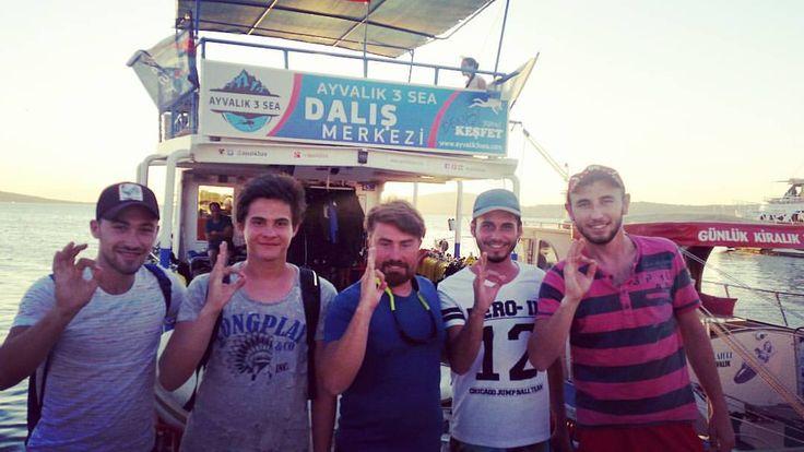 #ayvalik3sea #ayvalikdalis #scuba #daliskursu #ayvalik #1yildiz #egitim #ekip #cokiyi #divingcourse www.ayvalik3sea.com (Ayvalik 3 sea dalış merkezi)