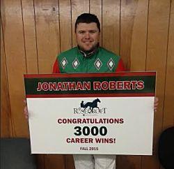 Jonathan Roberts wins 3,000th race - Harness Racing Newsroom - USTA - USTROTTING