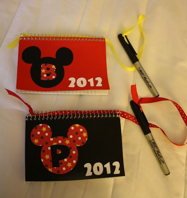 Walt Disney World Tips--Make your own Autograph books & take with you! Snacks are allowed in the parks too. Just no straws or coolers allowed.
