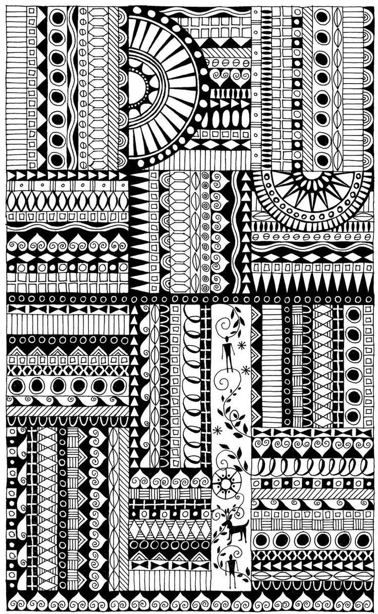 Line Art Zendoodle : Best images about adult coloring pages on pinterest