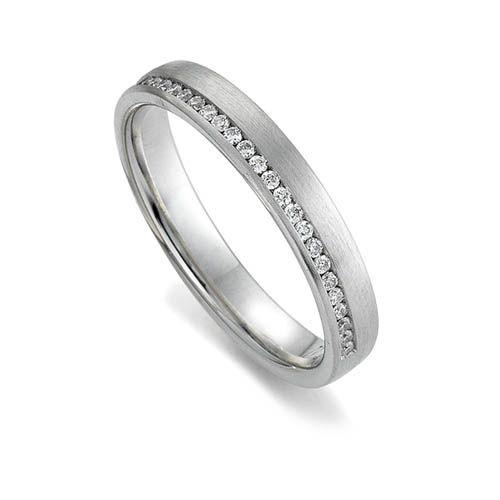 Gay Lesbian Transgender stunning diamond wedding ring by www.wooltonandhewitt.co.uk the LGBT wedding ring jeweller