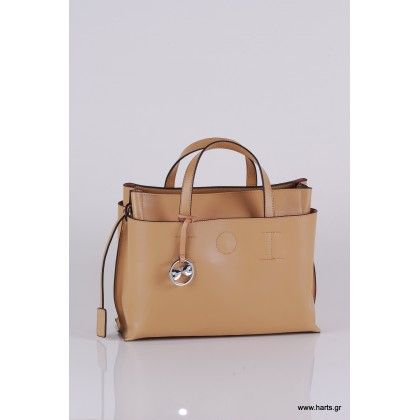 81901 καθημερινή τσάντα με ρυθμιζόμενο δεράτινο ιμάντα