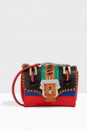 PAULA CADEMARTORI Kate Micro Bag. #paulacademartori #bags #shoulder bags #leather #