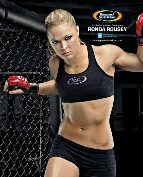 Ronda Rousey   MMA- She frickin' rocks!!