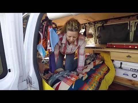 766 Vanlife Van Tour Of Mr T Chevy Express 2500 Full Tour Youtube Chevy Express Van Life Van Conversion Layout