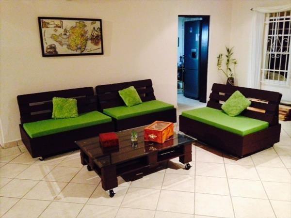 99 best pallet couch images on pinterest pallet designs for Affordable furniture pretoria