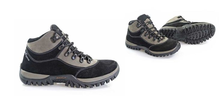 Lightweight hiking boots.