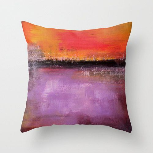 Modern Orange Pillow : Best 25+ Modern pillow covers ideas on Pinterest Couch pillows, Farmhouse living products and ...