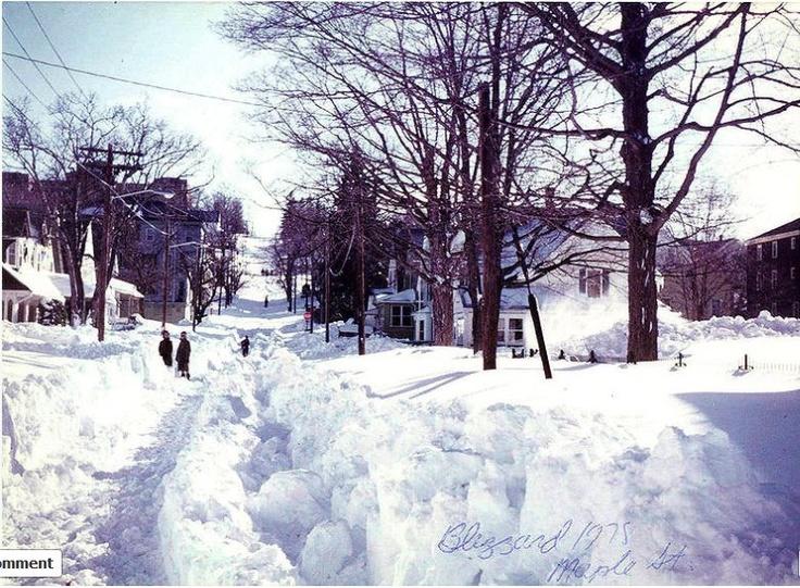 Blizzard Of  Woonsocket Rhode Island