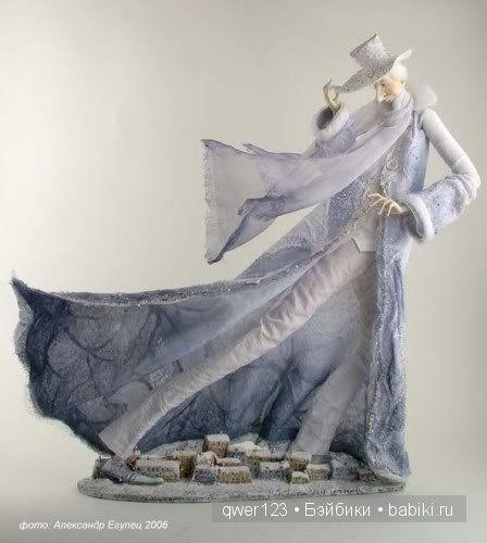 Сказочные куклы из глины Ольги Егупец / Авторская кукла известных дизайнеров / Бэйбики. Куклы фото. Одежда для кукол