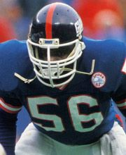 Lawrence Taylor - NY Giants. As a person he is dispicable off the field...on the field, THE most dominant defensive force, who could single handedly change the direction of the game. If he stayed off drugs, I can't even IMAGINE what he could have accomplished with his talent....drugs did him in.