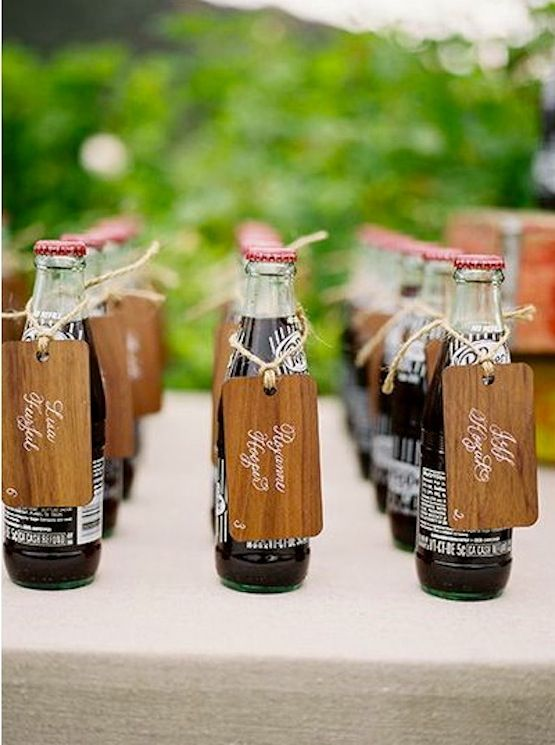 20 autumn party seating card inspirations