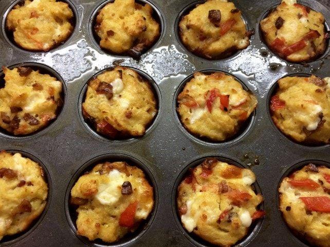 karcsú muffinok