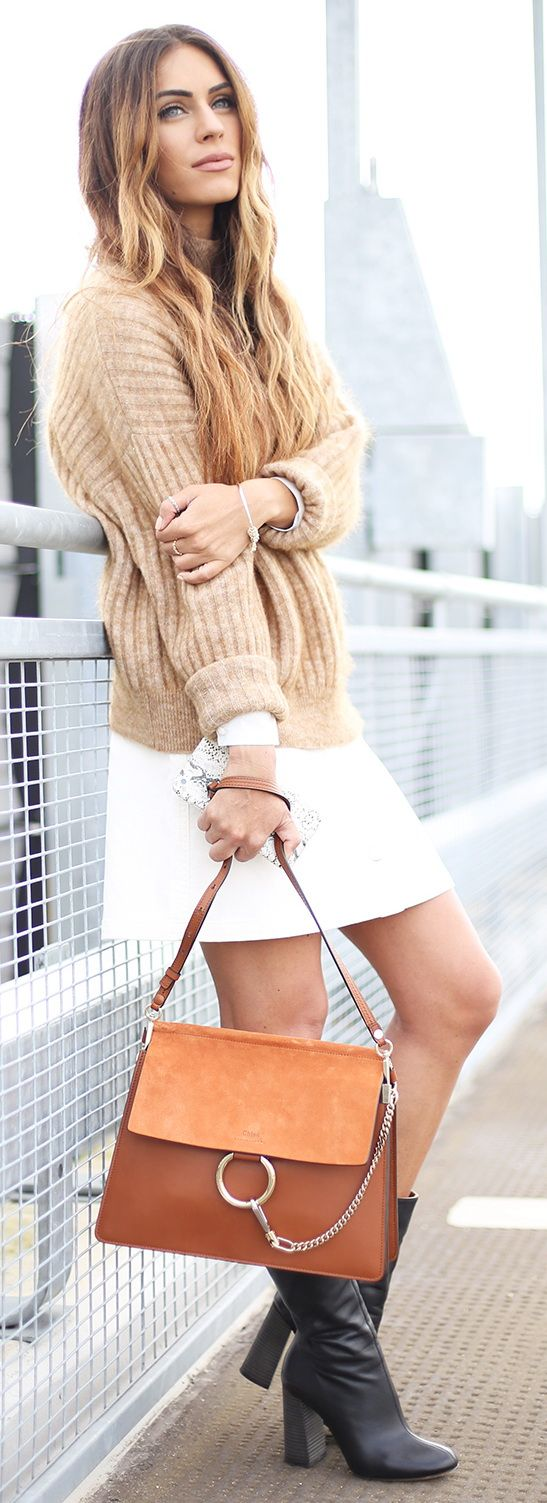 Best ideas to stay cozy amp look stylish in winter fashion amp trend - Fashion Trends Daily 25 Stylish Fall Outfits On The Street 2015