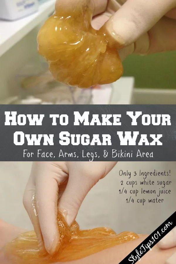 How To Make Sugar Wax At Home Diy Sugar Wax Recipe Recipe Sugar Waxing Sugar Wax Recipe Sugar Wax Diy