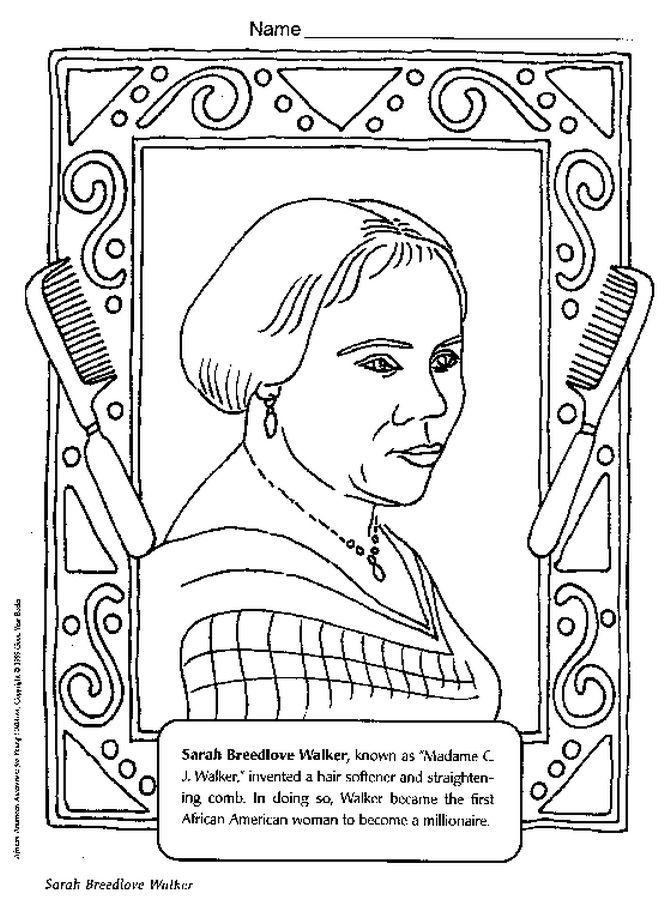 Black History People Coloring Pages Coloring Coloring Pages