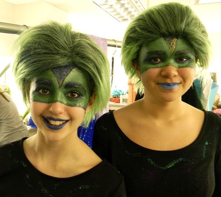 Flotsam and Jetsam from Theatre Tulsa's production of the Little Mermaid.