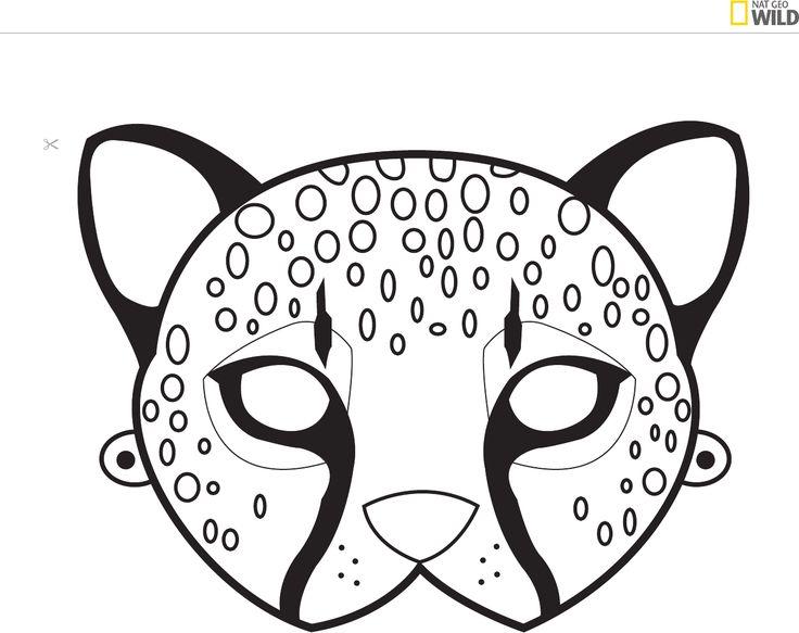 Best 25 Animal Mask Templates Ideas On Pinterest Felt