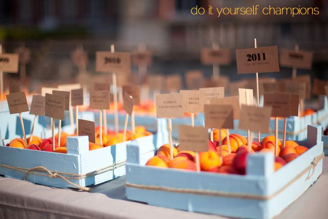 Good idea for your attendees