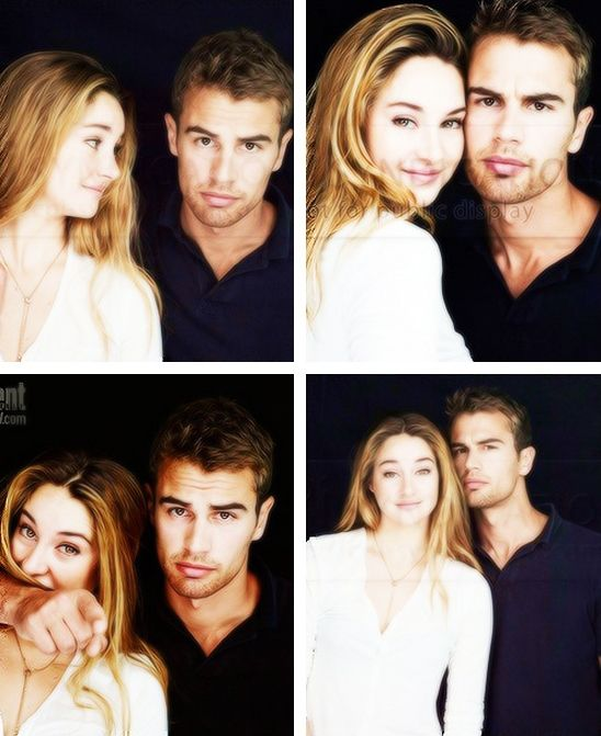 Shailene Woodley & Theo James + EW photoshoot + Comic-Con ...
