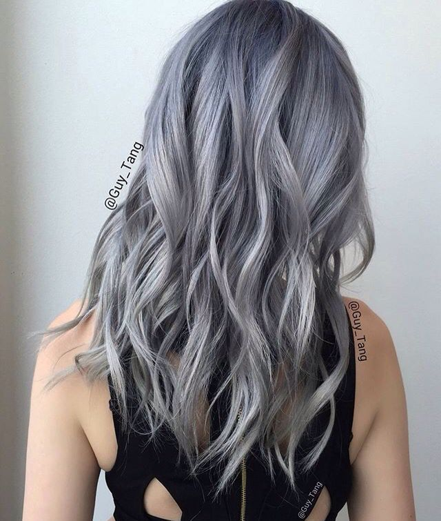 Gray Sliver Hair By Guy Tang Hair Pinterest Grey Ps