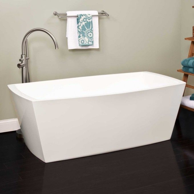 Avie Acrylic Freestanding Air Tub - Freestanding Tubs - Bathtubs - Bathroom