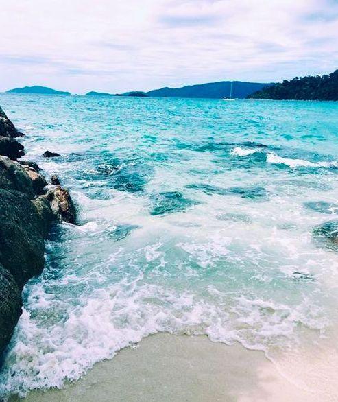 Let the waves meet my feet and my worries meet the sea!
