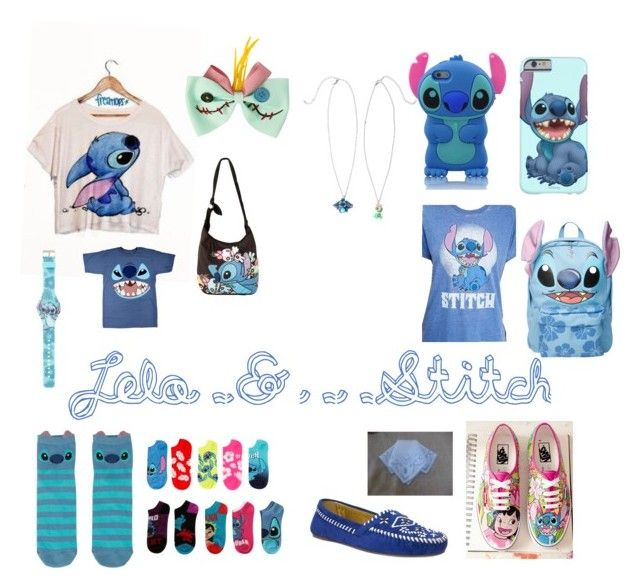 """Lelo and stitch"" by tylarcolbert on Polyvore"