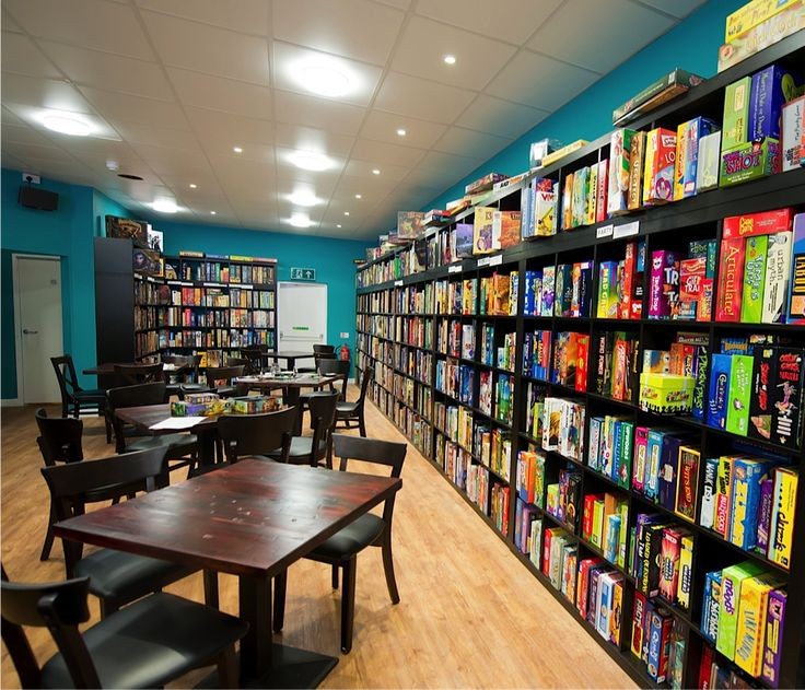 Thirsty Meeples Board Game Cafe - This place looks like heaven!