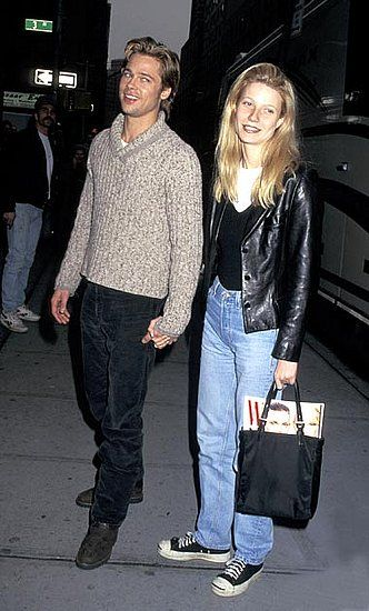 """Style Flashback: the Brad-Gwyneth days. remember when this was """"well dressed""""?"""