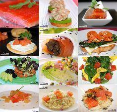Doce recetas con salmón ahumado o marinado