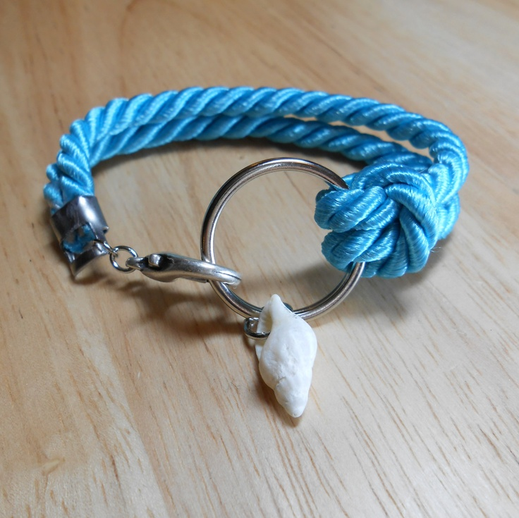 sea shell jewelry nautical ring bracelet traveller