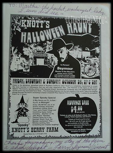 knott's halloween night
