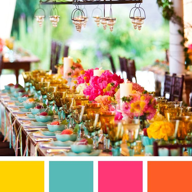 color pairings we love you will too wedding summer