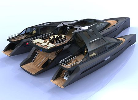 Luxury Harizon Yacht by Barnaby Heseltine