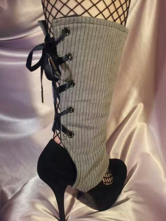 Fab Lace up Spats!