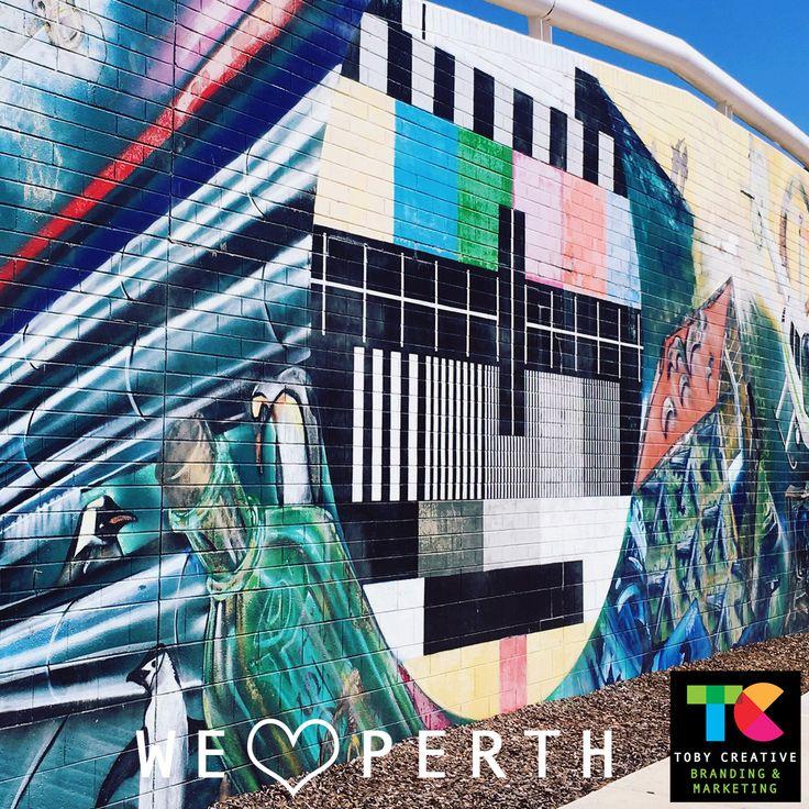 Street art at Joondalup Shopping Centre – Perth, WA https://tobycreative.com.au/perth-western-australia/ #graffitiart #streetart #urbanart #localart #joondalup #perth
