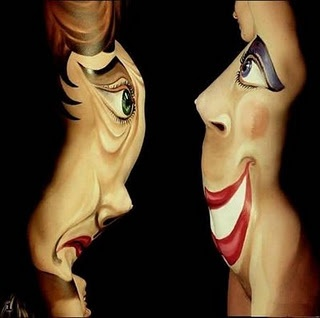 A collection of different body painting images..using the human body as a canvas!