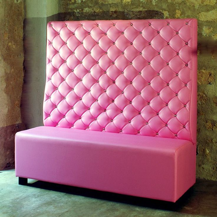 Banquette Pink Bench Rose Home Inspiring Picture On Pink Pinterest Home