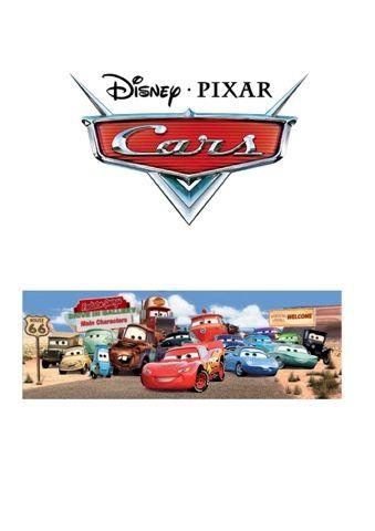 Beskrivningar på vad bilarna har för egenskaper/jobb samt bilder. Personliga namn tecken för dessa figurer.